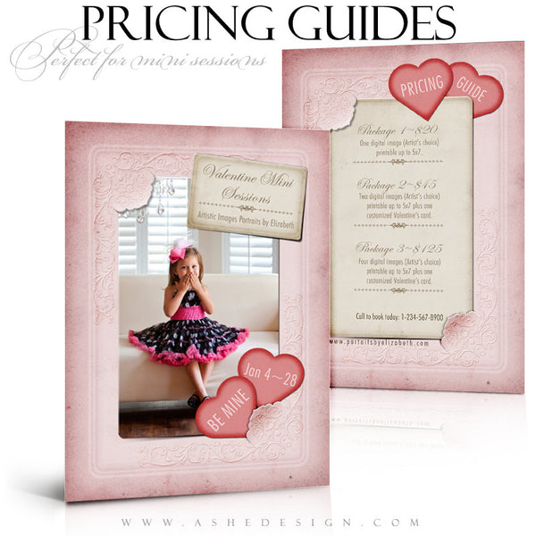 Pricing Guides - Victorian Valentine example 1 web display