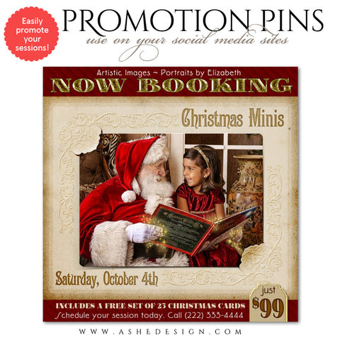 Timeline Promotional Pin | Classic Christmas