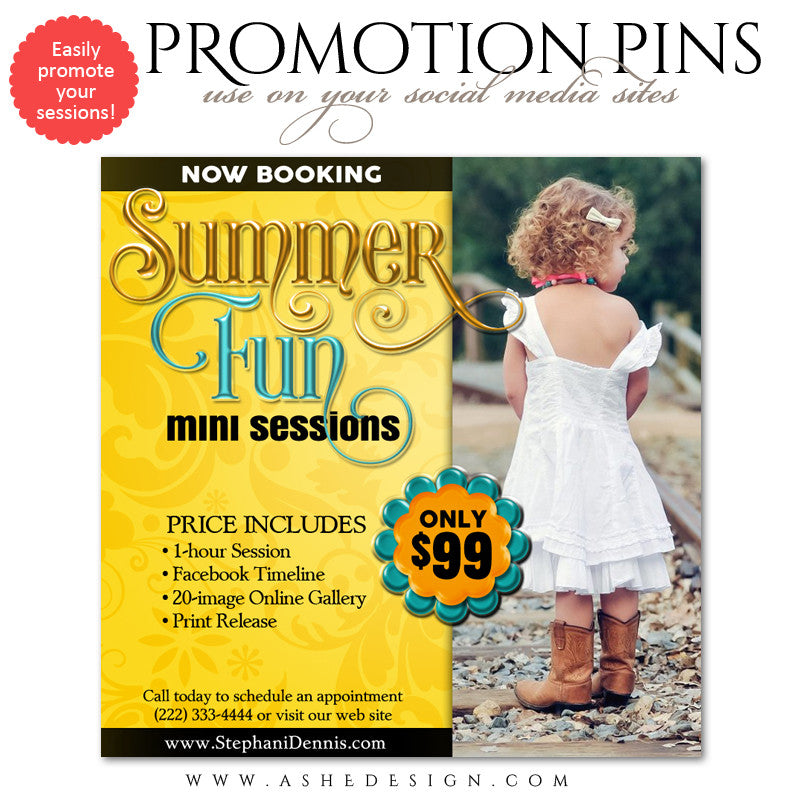 Timeline Promotional Pin | Summer Fun