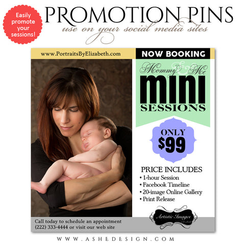 Timeline Promotional Pin | Mommy & Me