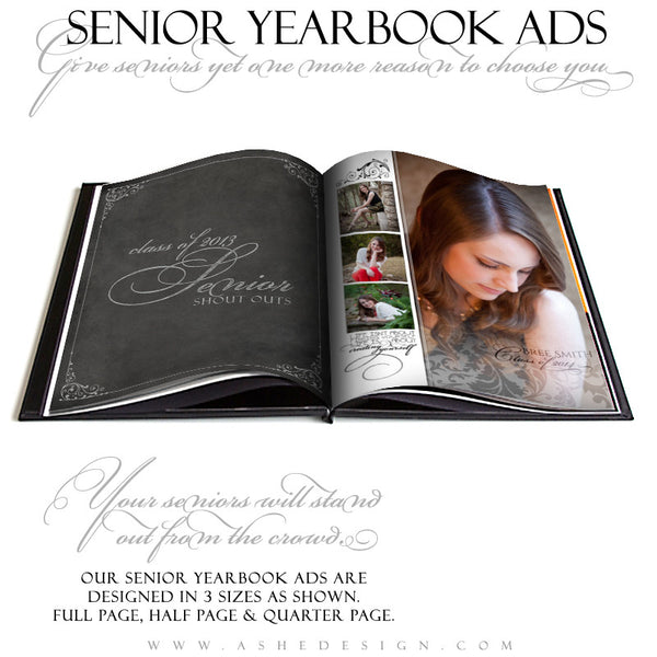 A Touch Of Class - Yearbook Templates for Photographers