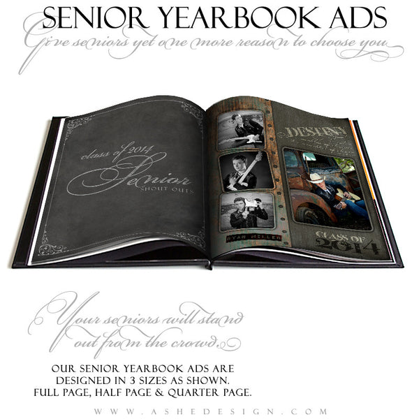 Urban Blade - Yearbook Ad Templates