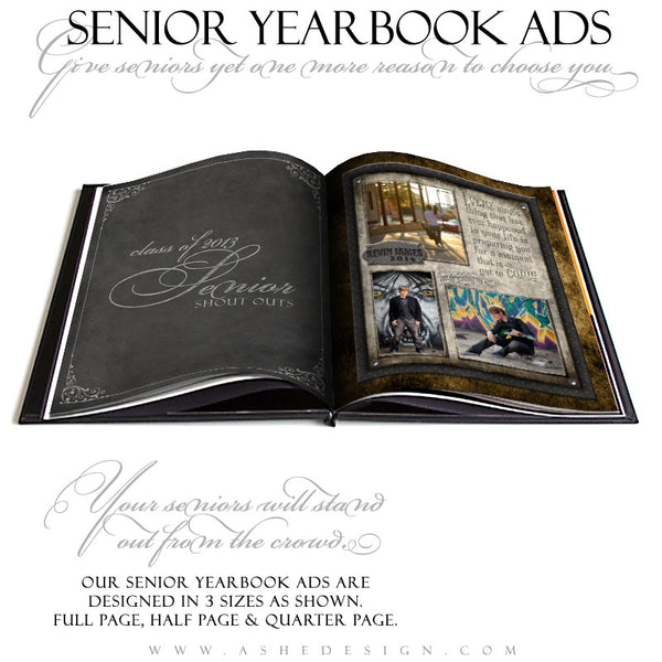 Wrought Iron Yearbook Ads for Photographers