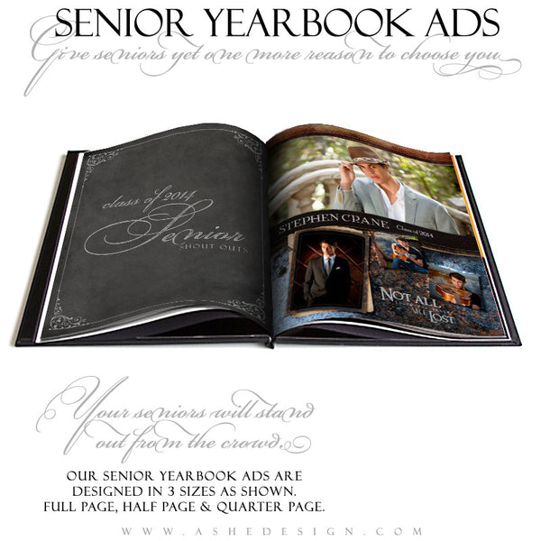 Leather Stitched YB Ads Full Set  web display