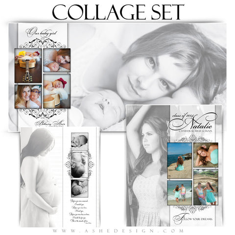 Simply Classic Collage Set 8x10,10x20,11x14 fullset web display
