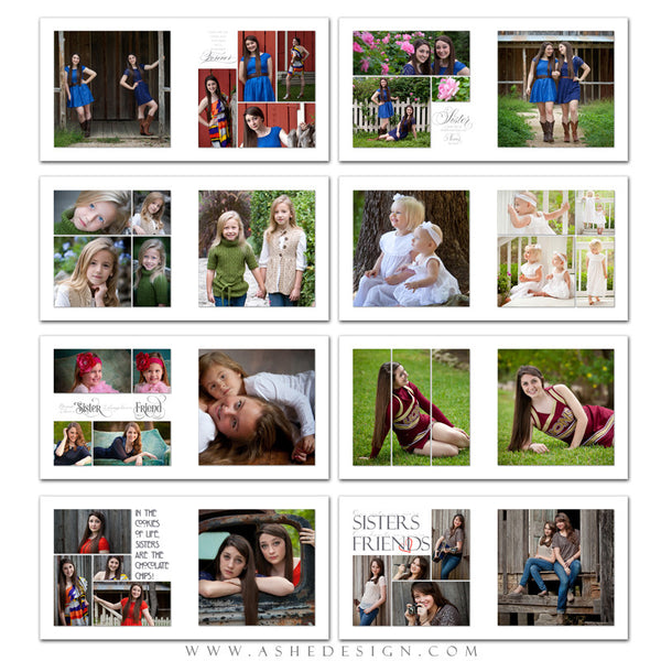 Simply Worded Sister - 10x10 P BK pages web display