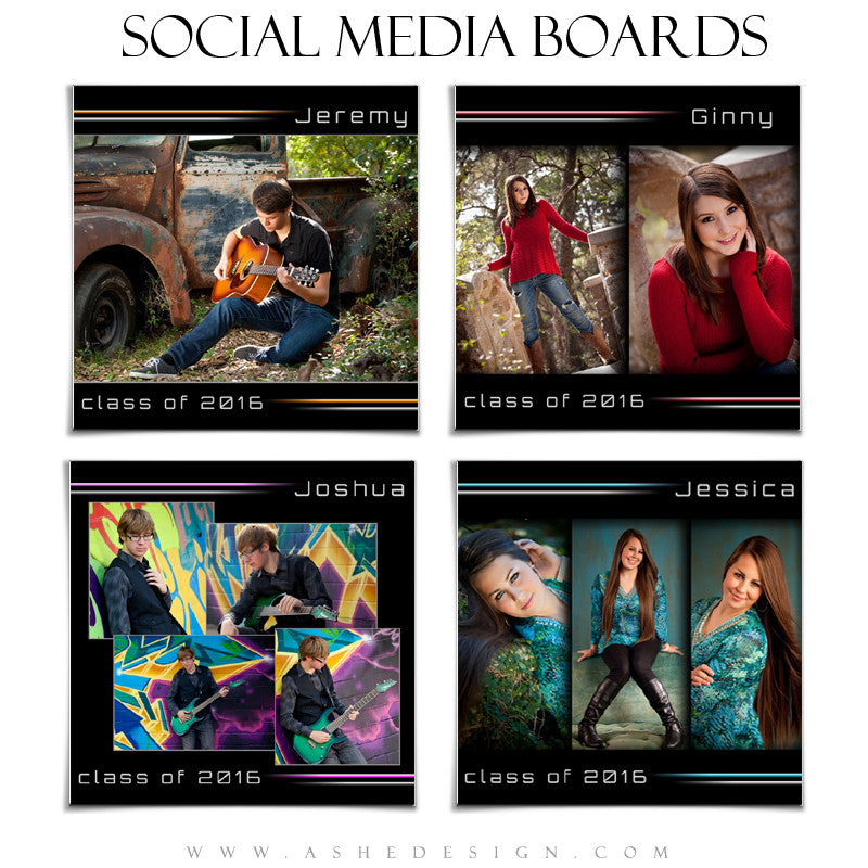 Social Media Boards | Streak Of Light