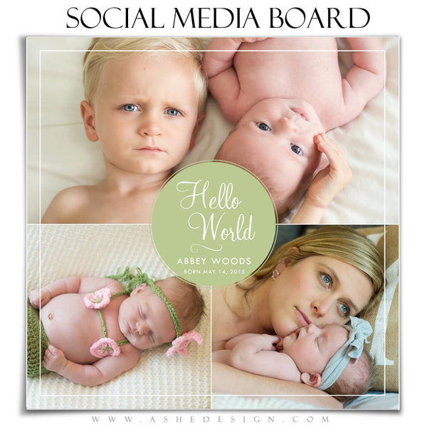 Social Media Board1 | Hello World