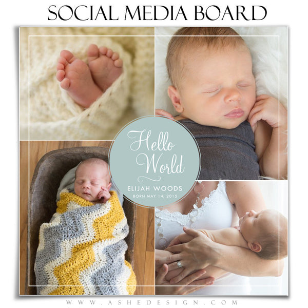 Social Media Board2 | Hello World
