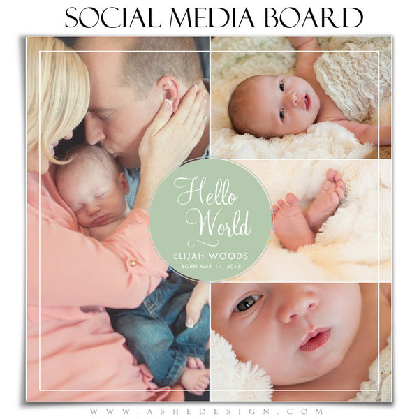 Social Media Board3 | Hello World