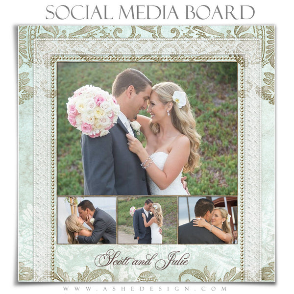 Social Media Board3 | Tiffany Damask