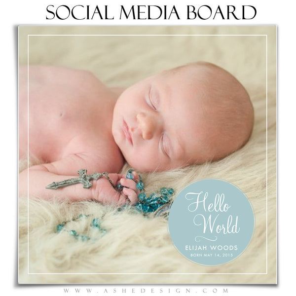 Social Media Board4 | Hello World