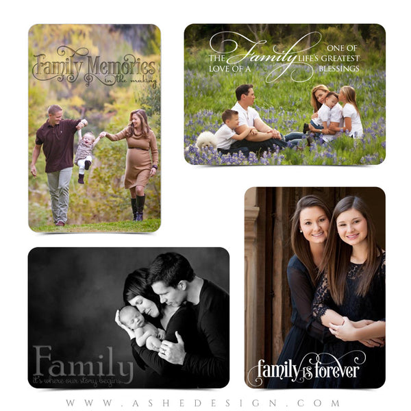 Family Time  examples web display