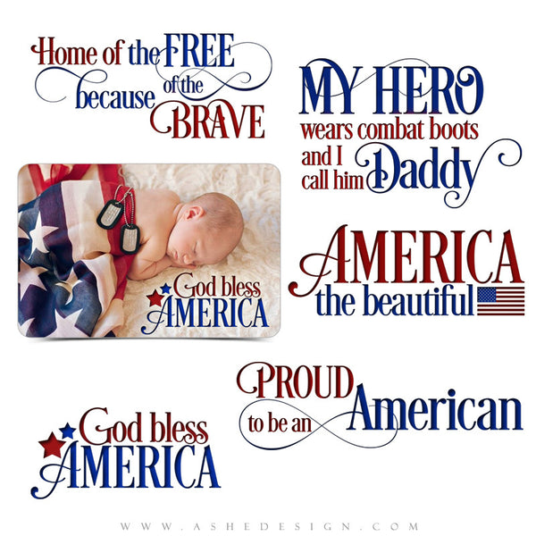 Word Art Collection | Home Of The Free