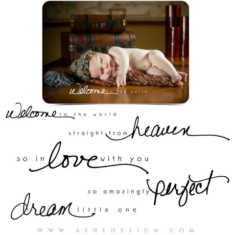 Word Art  | Hand Drawn - Dream Little One full set