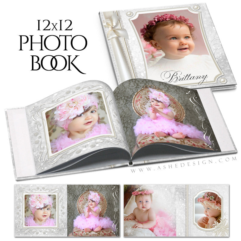 Photo Book 12x12 | Snow Babies cover
