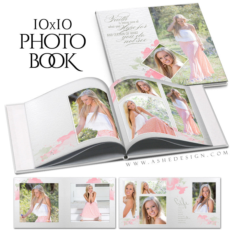 Photo Book Templates | Watercolors cover