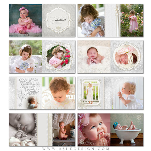 Photo Book 12x12 | Snow Babies pages