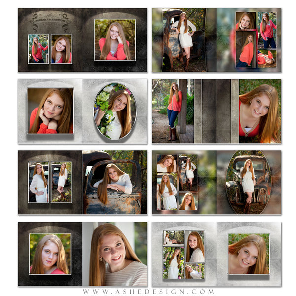 Photo Book Template 12x12 | Galleria pages
