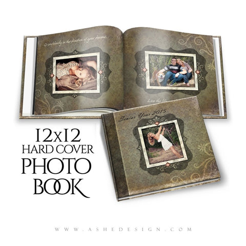 Photoshop 12x12 Photo Book | Shabby Chic cover