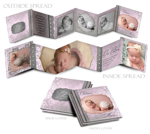 Baby Girl 3x3 Mini Book | Christina