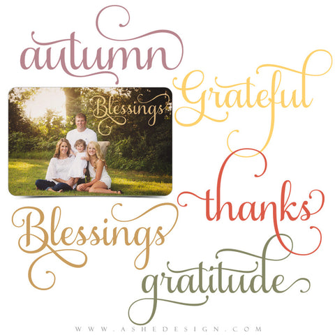 Word Art Set | Blessings set