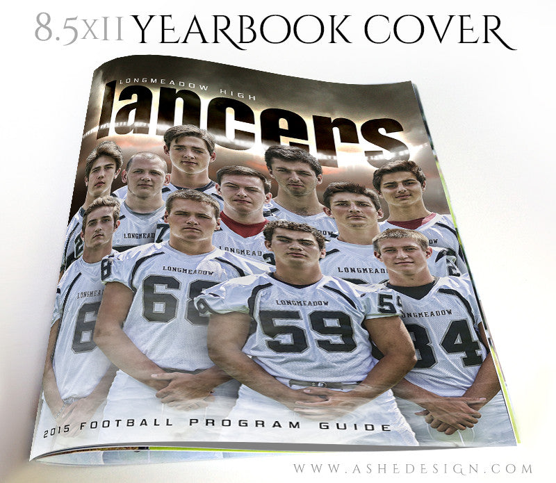 Yearbook Program Cover | Heart Of A Champion 3d