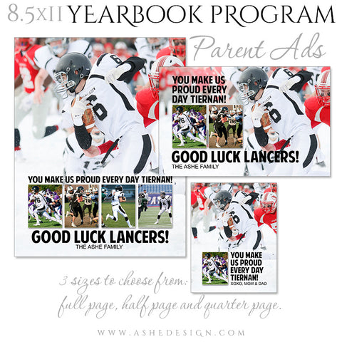 Yearbook Program - Parent Ad Set | Clean Collage