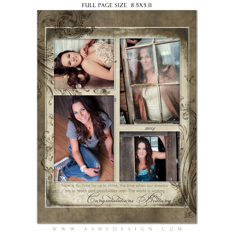 Catherine Alise Yearbook Templates for Photographers
