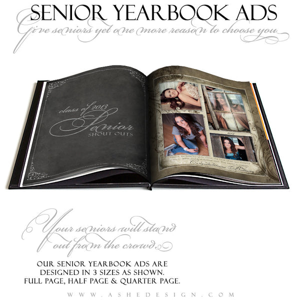 Catherine Alise Yearbook Photography Templates