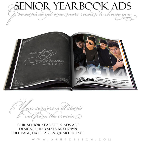 Follow Your Path -  Yearbook Templates for Photographers