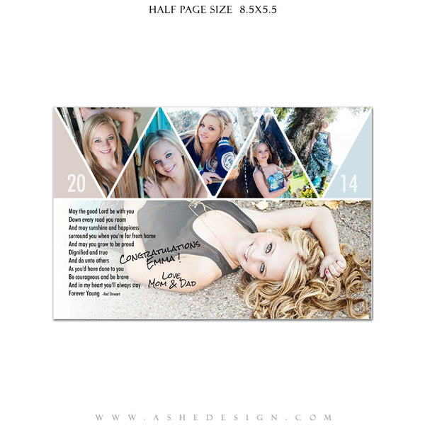 Pennant -  Yearbook Templates for Photographers