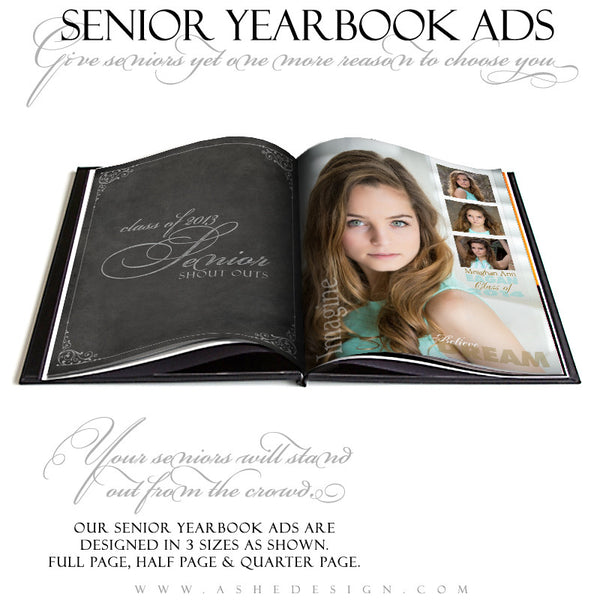 Sculpting Words - Yearbook Templates for Photographers