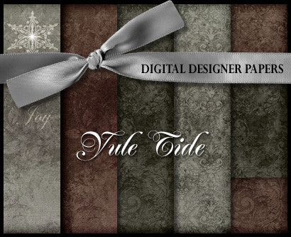Digital Papers | Yule Tide