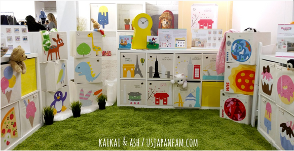 kaikai & ash booth at the Playtime NY Tradeshow