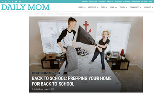 [DailyMom.com] Back-to-School feature in DailyMom.com