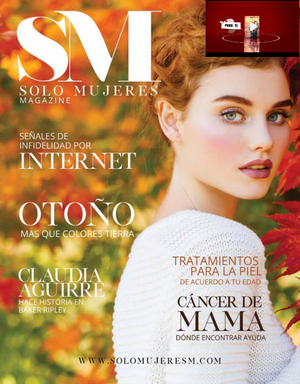 Introduced in the high-end 'Solo Mujeres Magazine'
