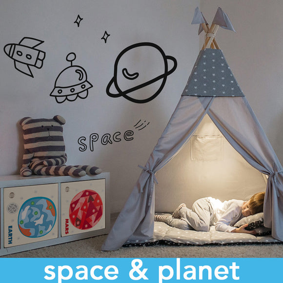 Toy Storage Box designs of Planets