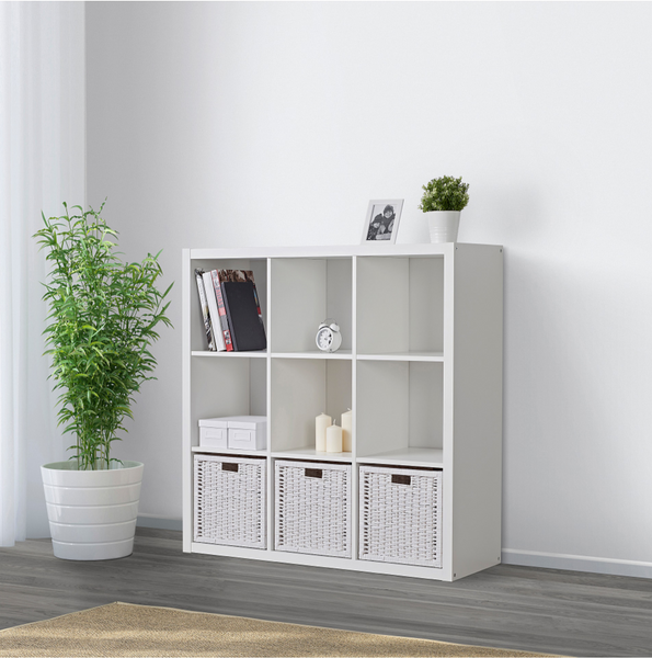 Ikea Kallax Shelf Unit for kaikai & ash toy storage box
