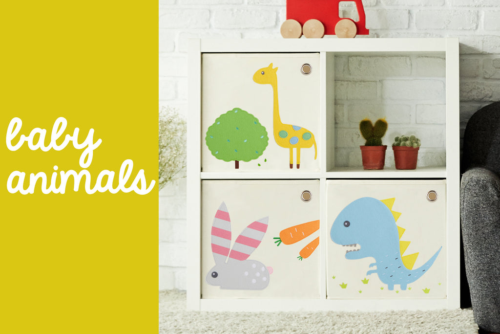 Baby Animal Toy Storage Box designs