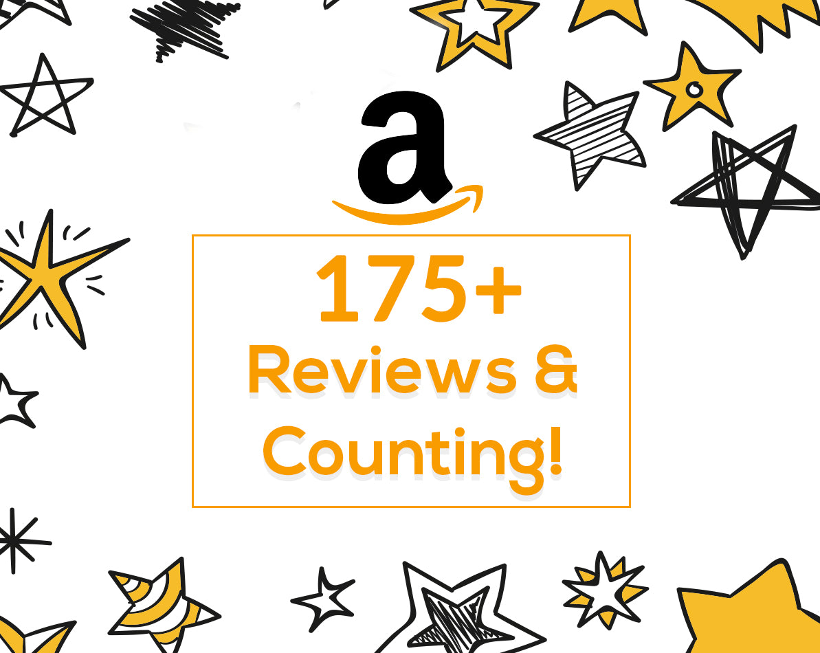175+ Amazon Reviews!