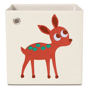 Elegant Deer, Toy Storage Box for Baby Nursery and Kids Room - Main Image