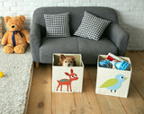 Elegant Deer, Toy Storage Box for Baby Nursery and Kids Room - Lifestyle