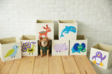 Elegant Deer, Toy Storage Box for Baby Nursery and Kids Room - Group Image