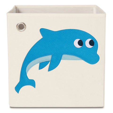 Soaring Dolphin, Kids Canvas Storage Box