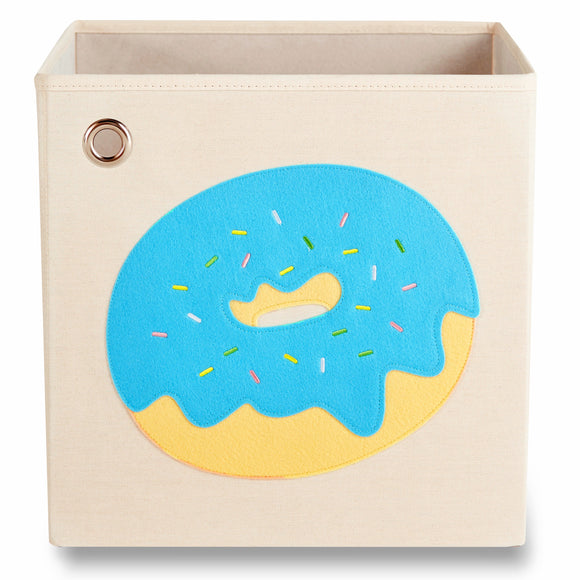 Sprinkled Blue Donut