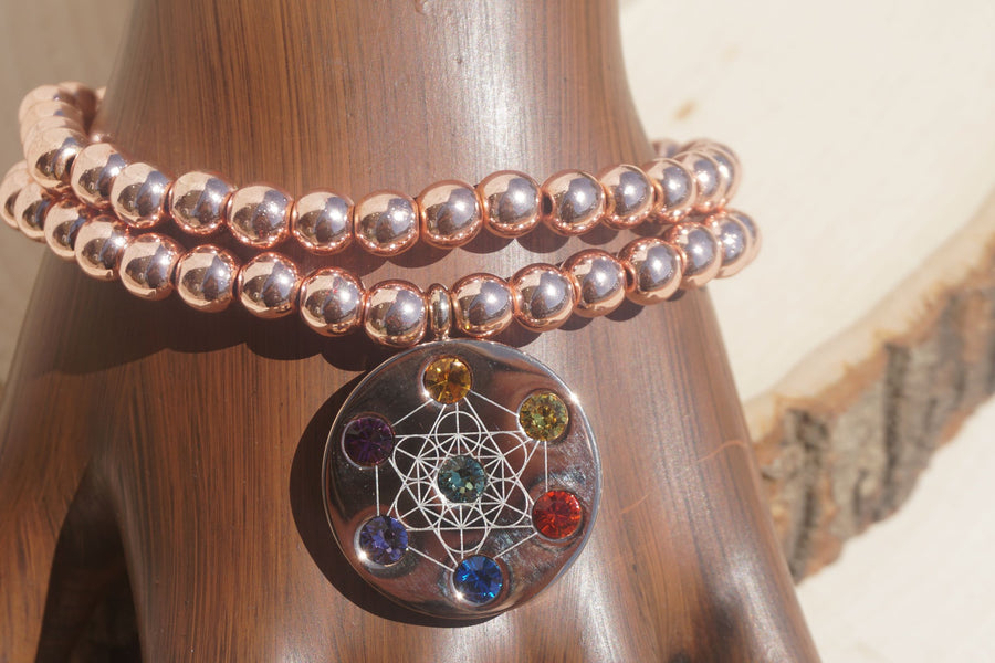 Metatron Rose Gold Bracelet