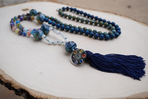 """Fantasy"" Zen Mala Necklace"