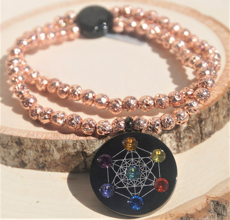 Metatron Copper Bracelet