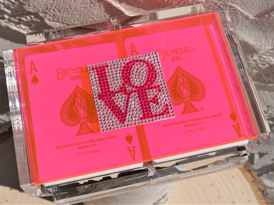 BLING LUXE CARD DECK CASE